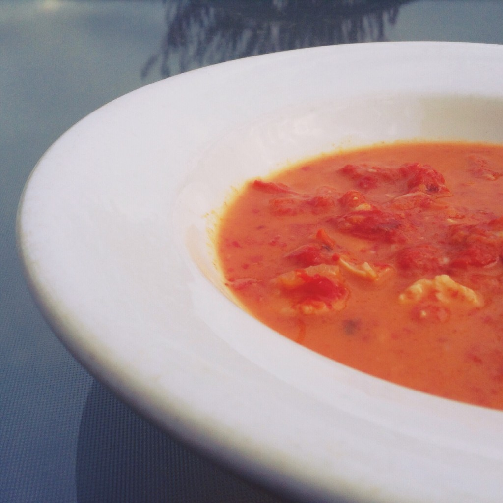Test Kitchen - Red Pepper Gouda Soup