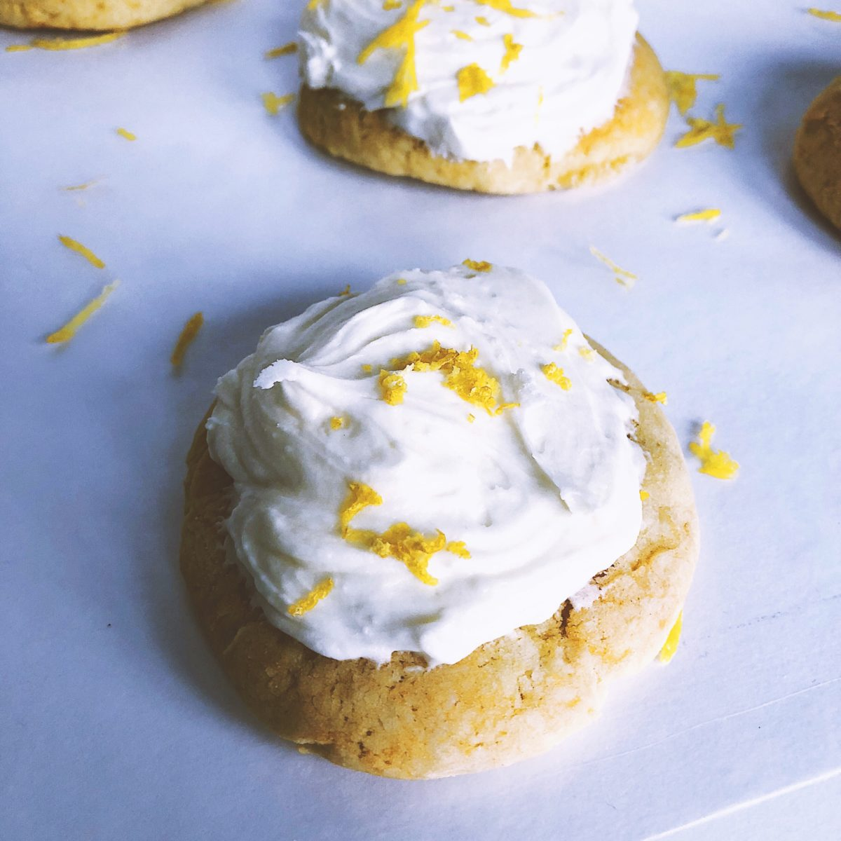 Lemon Ricotta Cookies on www. thedanareneeway.com