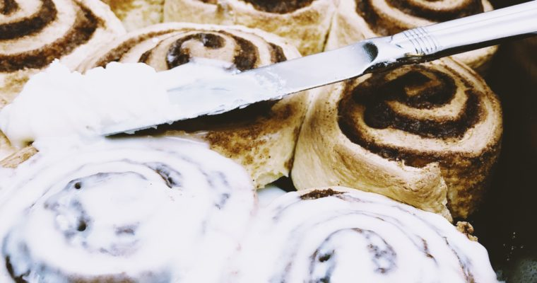 {Guilty Pleasures} Highly Addictive Cinnamon Rolls